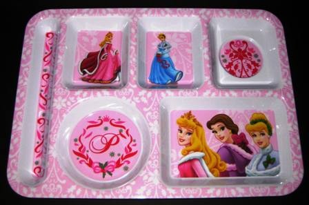 Disney Princess Sectional Snack Tray