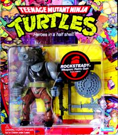 TMNT Rocksteady with Weapons