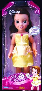 Princess Belle Doll in Yellow Dress Classic Little Princess 15 Inches Tall