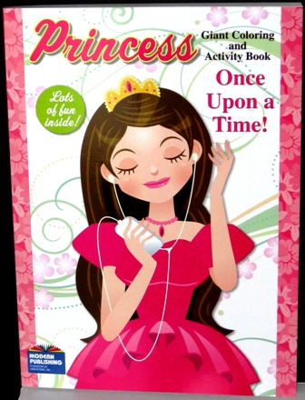 Princess Coloring and Activity Book Once Upon A Time