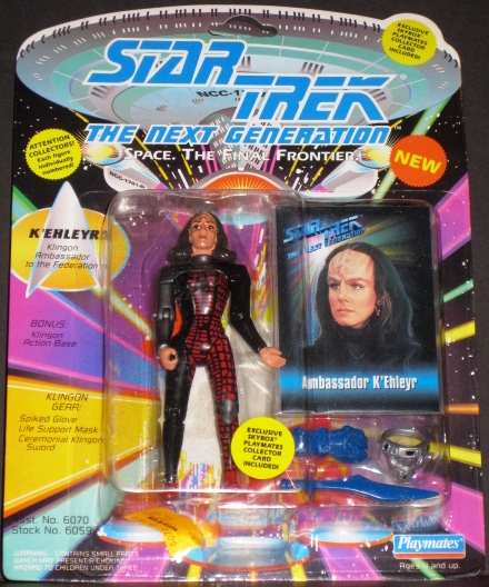 Star Trek the Next Generation Space the Final Frontier Ambassador K'Ehleyr Figure