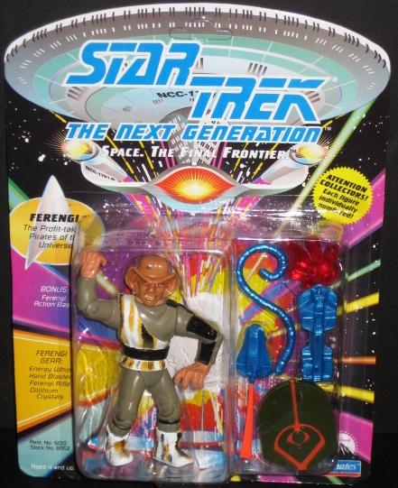 Star Trek the Next Generation Space the Final Frontier Ferengi Action Figure