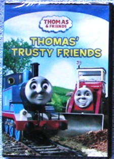 Thomas Tank Engine Trusty Friends DVD